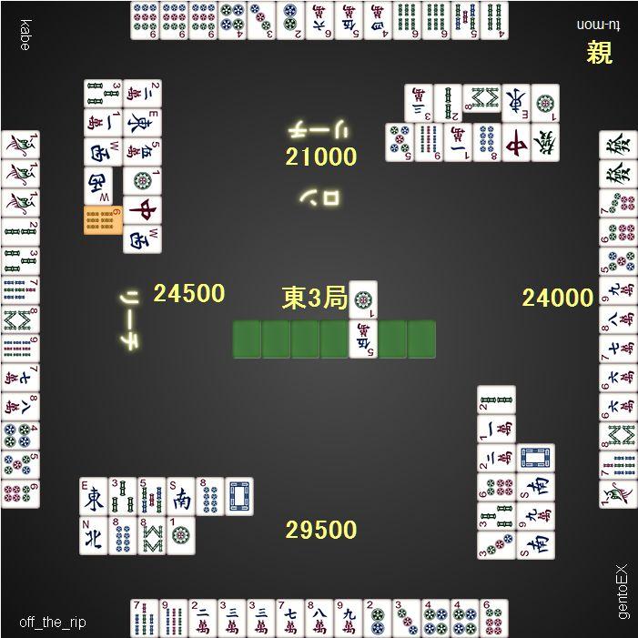 DORA総取トーナメント_20160121_3ゲーム目_東3局
